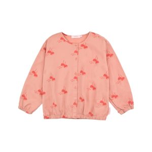 Tinycottons  - CANDY APPLES LS BLOUSE - Clothing