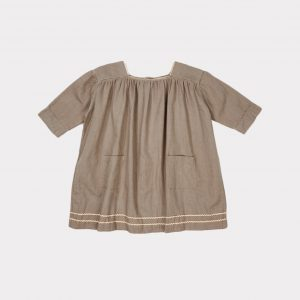 Caramel  - HYACINTH DRESS STONE GREY - Clothing