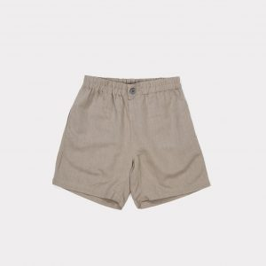 Caramel  - LUPINE SHORT STONE GREY - Clothing