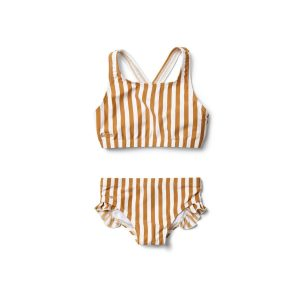 Liewood  - JULIET BIKINI MUSTARD STRIPE - Clothing