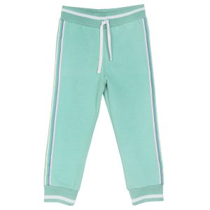Emile et Ida  - JOGGER PANTS LIME - Clothing