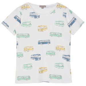 Emile et Ida  - BUS T-SHIRT ECRU - Clothing