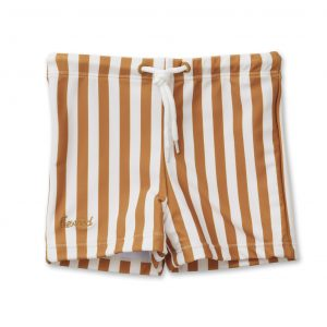 Liewood  - OTTO SWIM PANTS MUSTARD STRIPE - Clothing