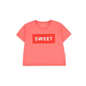 Tinycottons  - SWEET SHORT SLEEVE CROP TEE - Clothing