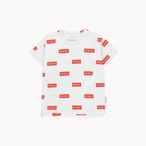 Tinycottons  - SMILE SHORT SLEEVE TEE - Clothing
