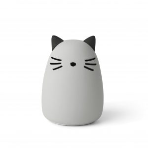 Liewood  - WINSTON NIGHT LIGHT CAT DUMBO GREY - Homeware