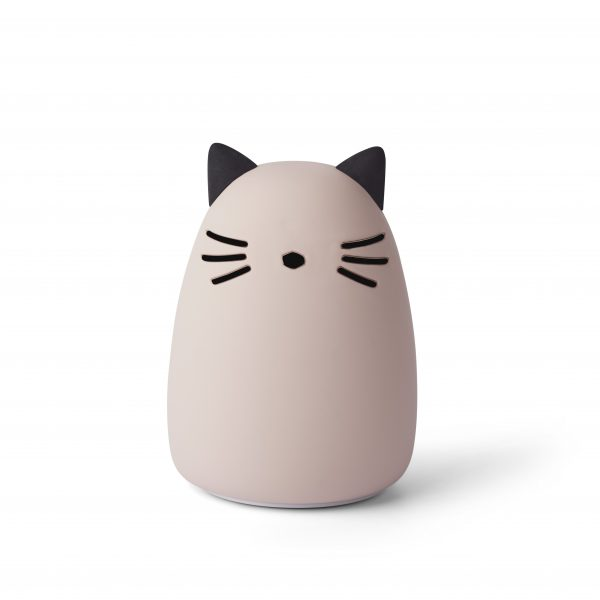 Liewood  - WINSTON NIGHT LIGHT CAT ROSE - Homeware