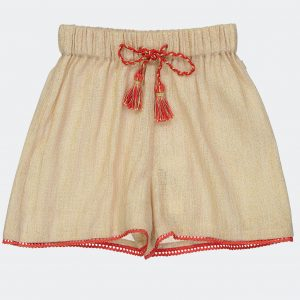 Blune  - LOVE ME TENDER GOLD SHORTS - Clothing