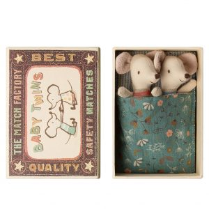 Maileg  - BABY MICE TWINS IN BOX - Toys