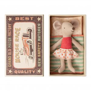 Maileg  - LITTLE SISTER MOUSE IN BOX - Toys