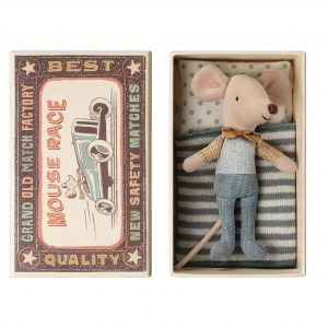Maileg  - LITTLE BROTHER MOUSE IN BOX - Toys