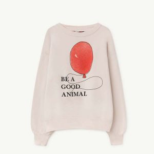The Animals Observatory  - BEAR KIDS SWEATSHIRT WHITE BALLOON - Clothing