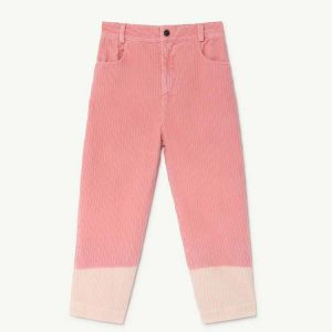 The Animals Observatory  - ELEPHANT KIDS PANTS PINK - Clothing