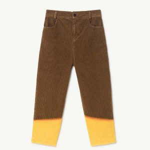 The Animals Observatory  - ELEPHANT KIDS PANTS BROWN - Clothing