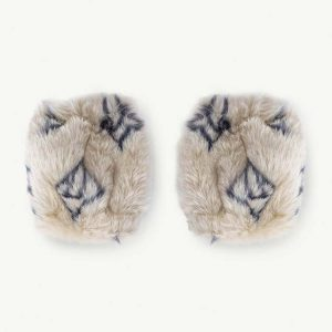 The Animals Observatory  - LOGO ROE MUFF SOFT BEIGE - Accessories