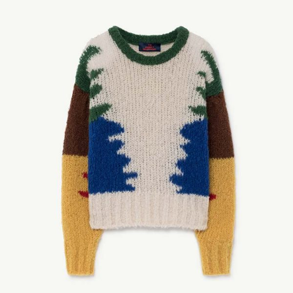 The Animals Observatory  - BLOWFISH KIDS SWEATER MULTICOLOR - Clothing