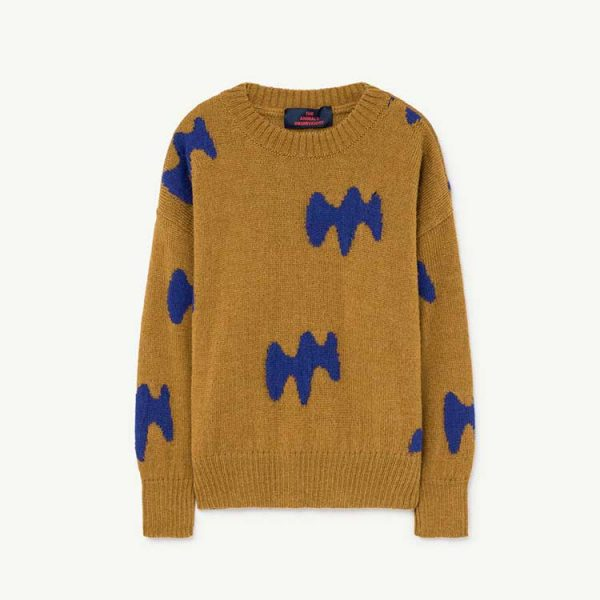 The Animals Observatory  - RAVEN KIDS SWEATER SAND - Clothing