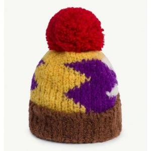 The Animals Observatory  - BLOW PONY KIDS HAT YELLOW - Accessories