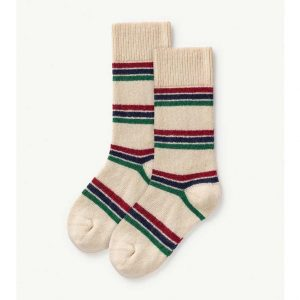 The Animals Observatory  - SNAIL KIDS SOCKS SOFT PINK - Clothing