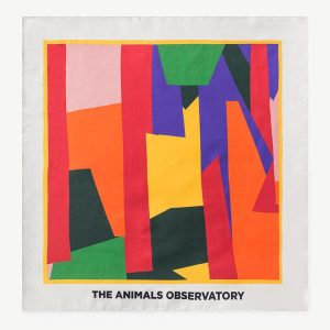 The Animals Observatory  - RAY SCARF MULTICOLOR GEOMETRIC RED - Accessories