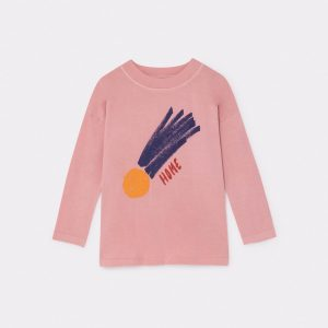 Bobo Choses  - A STAR CALLED HOME BLUE LONG SLEEVE T-SHIRT - Clothing