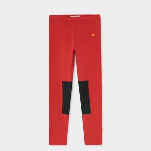 Bobo Choses  - RED PATCH LEGGINGS - Clothing