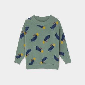 Bobo Choses  - ALL OVER A STAR CALLED HOME SWEATSHIRT - Clothing