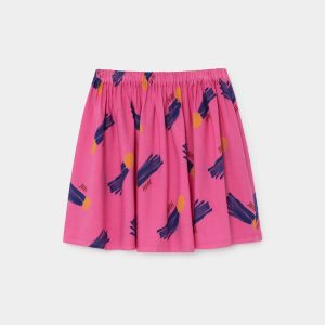 Bobo Choses  - ALL OVER A STAR CALLED HOME FLARED SKIRT - Clothing