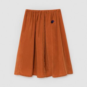 Bobo Choses  - ORANGE MOON CUPRO MIDI SKIRT - Clothing