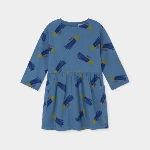 Bobo Choses  - ALL OVER A STAR CALLED HOME PRINCESS DRESS - Clothing