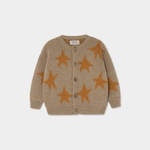 Bobo Choses  - STARS JACQUARD CARDIGAN - Clothing