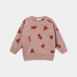 Bobo Choses  - STUFF JACQUARD JUMPER - Clothing