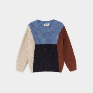 Bobo Choses  - COLOR BLOCK BOBO JUMPER - Clothing