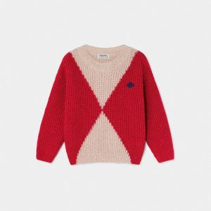 Bobo Choses  - GEOMETRIC SATURN JUMPER - Clothing