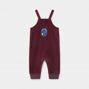 Bobo Choses  - PATCH POLAR FLEECE JUMPSUIT - Clothing