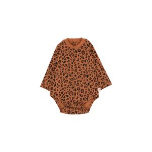 Tinycottons  - ANIMAL PRINT LONG SLEEVE BODY - Clothing