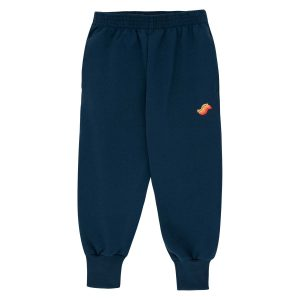 Tinycottons  - WAVE SWEATPANT NAVY - Clothing