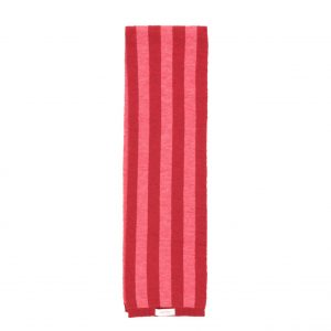Tinycottons  - STRIPES SCARF BURGUNDY & BUBBLE GUM - Accessories