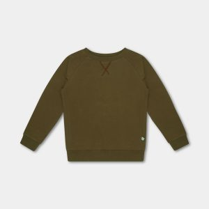 Repose AMS  - SWEAT TEE OLIVE - Clothing