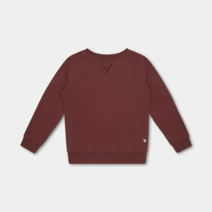 Repose AMS  - SWEAT TEE WARM RED - Clothing