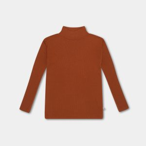 Repose AMS  - TURTLE NECK WARM HAZEL - Clothing