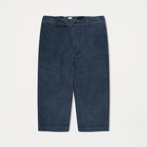 Repose AMS  - CORD PANTS MID STONE BLUE - Clothing