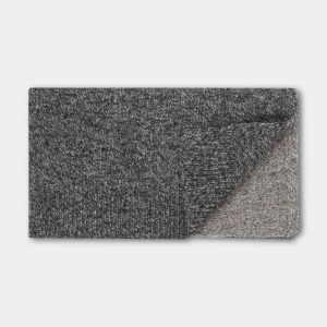 Repose AMS  - KNITTED SCARF MEDIUM MIXED GREYS - Accessories