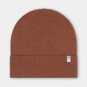 Repose AMS  - KNITTED HAT  STONE BROWN - Accessories