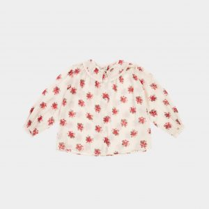 Caramel  - ADIKIA BLOUSE BOUQUET PRINT - Clothing