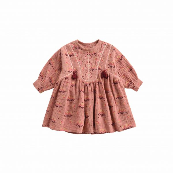 Louise Misha  - BABY DRESS ANGELA SIENNA PERU - Clothing