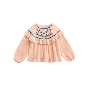 Louise Misha  - BLOUSE ANDREA BLUSH - Clothing