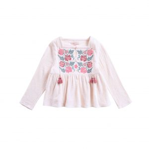 Louise Misha  - BLOUSE ULIA CREAM - Clothing