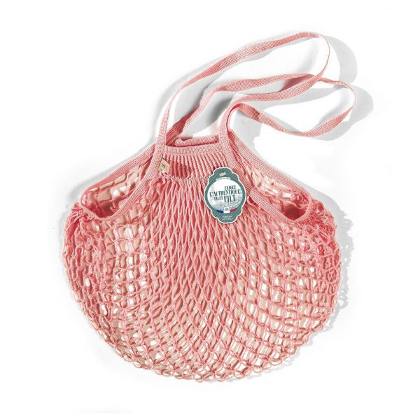 Filt  - FRENCH NET MARKET BAG ROSE LAYETTE - Accessories