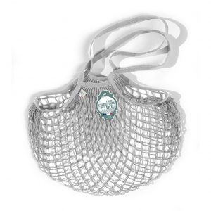 Filt  - FRENCH NET MARKET BAG GREY PLUIE - Accessories